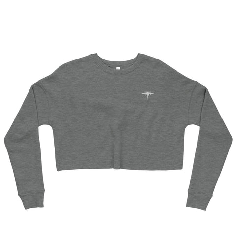 FIT TO FLY CROPPED SWEATER