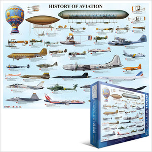 History of Aviation - 1000 stukjes - Legpuzzel