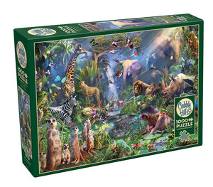 Into the jungle - 1000 stukjes - Legpuzzel