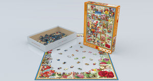 Flowers Seed Catalogue - 1000 stukjes - Legpuzzel