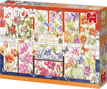 Afbeelding in Gallery-weergave laden, Tulips from Holland Premium Collection - 1000 stukjes - Legpuzzel