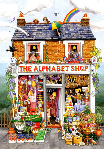 The Alphabet Shop - 500 XXL stukken - Legpuzzel