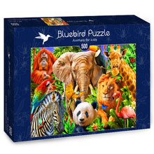Afbeelding in Gallery-weergave laden, Animal for kids - 500 stukjes - Legpuzzel