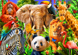 Animal for kids - 500 stukjes - Legpuzzel