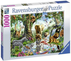Avonturen in de jungle Ravensburger - Legpuzzel - 1000 stukjes