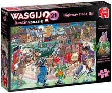 Afbeelding in Gallery-weergave laden, Wasgij Destiny 21 Highway Hold-Up! - 1000 stukjes - Legpuzzel