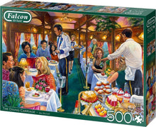 Afbeelding in Gallery-weergave laden, Falcon puzzel The Dining Carriage Jumbo - Legpuzzel - 500 stukjes