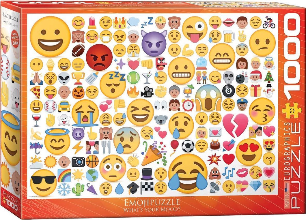 Emoji What's your mood? Eurographics - 1000 stukjes - Legpuzzel