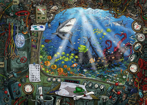 Ravensburger Escape Puzzle 4 Submarine - 759 stukjes