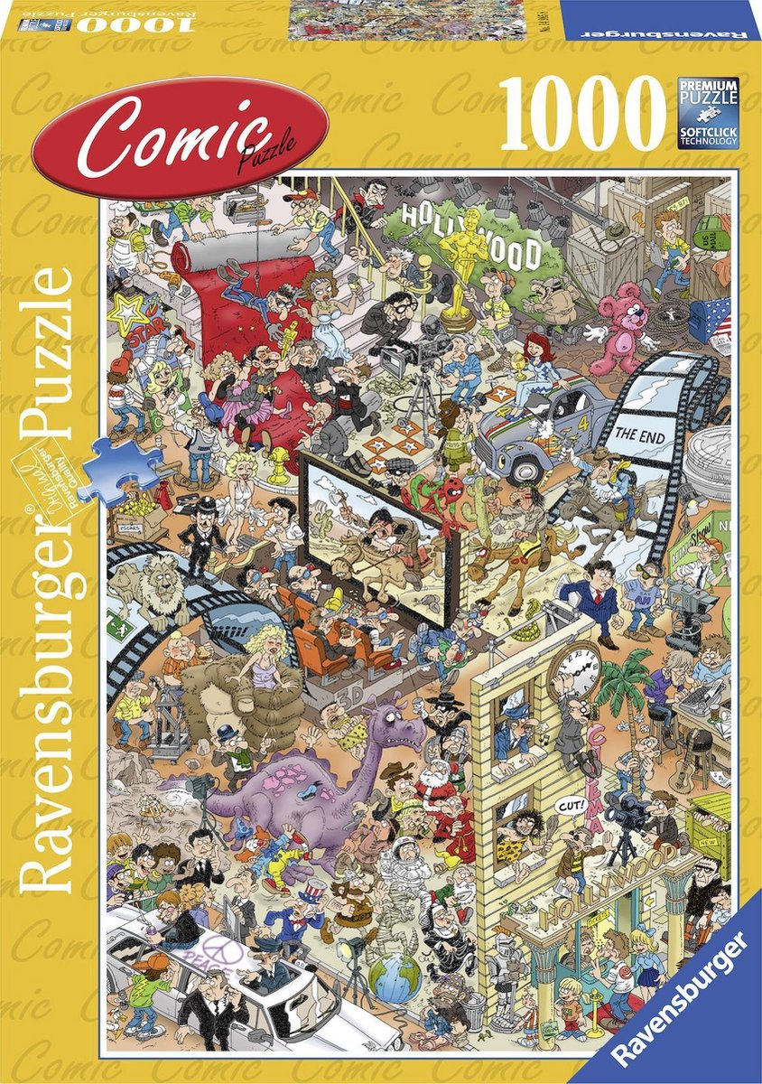 Hollywood! Ravensburger - 1000 stukjes - Legpuzzel