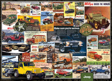 Afbeelding in Gallery-weergave laden, Jeep Advertising Collection Eurographics - 1000 stukjes - Legpuzzel