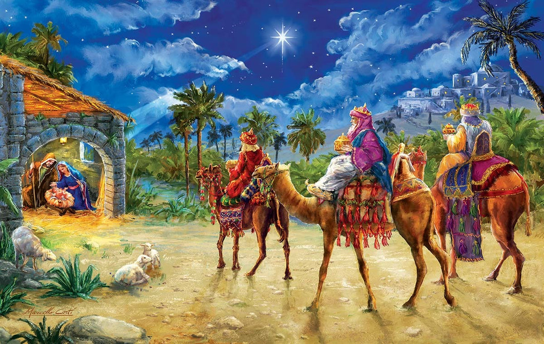 Marcello Corti Journey of the Magi - 550 stukjes - Legpuzzel