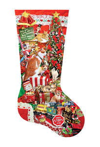 Kitty Stocking - 800 stukken XXL - Legpuzzel