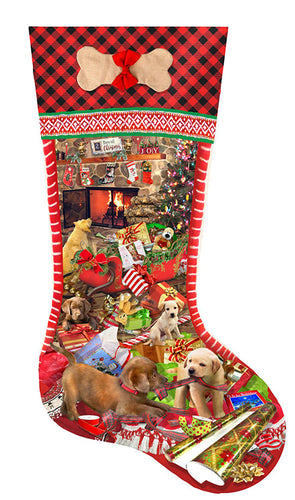 Puppy Stocking - 800 stukken XXL - Legpuzzel