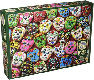 Sugar Skull Cookies - Cobble Hill