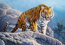 Afbeelding in Gallery-weergave laden, Tigers on the Rock Castorland - 500 stukjes - Legpuzzel