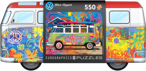 VW Bus Wave Hopper Eurographics - Tin Box Puzzel - 550 stukjes