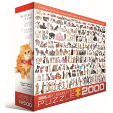 Afbeelding in Gallery-weergave laden, The World of Cats Eurographics - 2000 stukjes - Legpuzzel