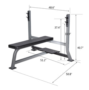 Heavy Duty Bench Press Barbell Weight Lifting Strength Training Workout