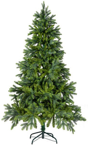 6 Foot Premium Hinged Artificial Christmas Fir Spruce Tree PVC PE Flame Retardant