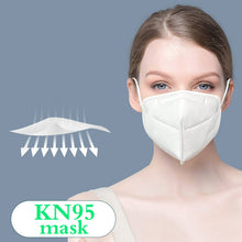 Load image into Gallery viewer, 25 Count KN95 Protective Face Mask Disposable FDA Certified High-Efficiency Comfortable