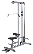 Load image into Gallery viewer, Lat Pull Down Machine  Pulldown Low Row Bar Fitness Body Workout Gym