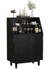 Load image into Gallery viewer, Buffet Dining Bar Cabinet Wine Storage Sideboard Liquor Display Home Kitchen