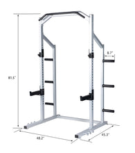 Load image into Gallery viewer, Power Rack Weight Lifting Squat Stand Strength Training Home Gym Power Cage