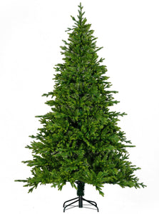 7ft Artificial Christmas Tree Premium  Full  Fir Spruce Flame Retardant