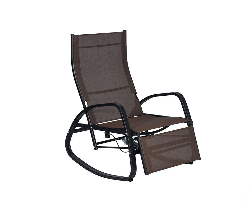 Home Patio Rocking Chair Indoor Outdoor Reclining Lounger Couch Garden Rocker