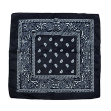 Load image into Gallery viewer, 12 Pack Cloth Paisley Print Scarf Bandana Kerchief Head Wrap Face Mask