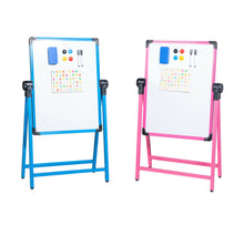 Load image into Gallery viewer, Easel Whiteboard Stand Magnetic Dry Erase Board Office School Marker