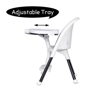 Baby High Chair Infant Toddler Feeding Seat Adjustable Portable Snack Stool