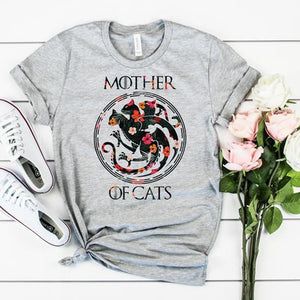 "ECT Designer shirt ""Mother of Cats"""