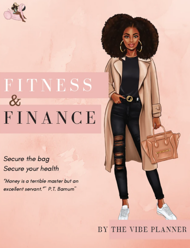 The GlowUP | Fitness & Finance Printables + The Notes Notebook