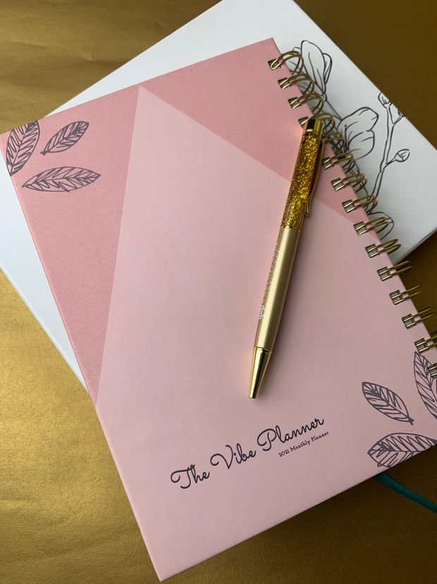 PRETTY IN PINK RESTOCK - MAY TO DECEMBER 2021 PLANNER