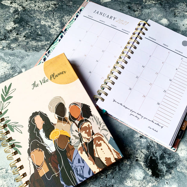 A SEAT AT THE ROUND TABLE RESTOCK - MAY TO DECEMBER 2021 PLANNER