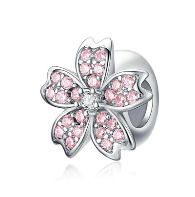 Cherry Blossom Flower Charm