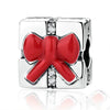 Red Bow Knot Charm