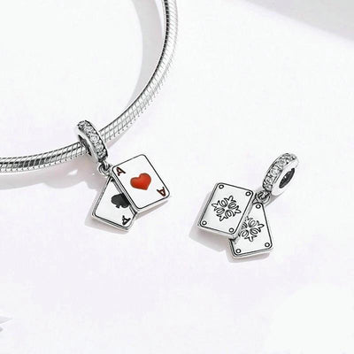 Pairs of ace pendant