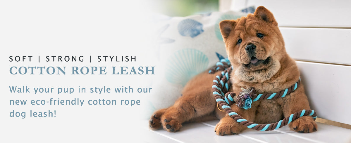 COTTON ROPE LEASH PAGE BANNER