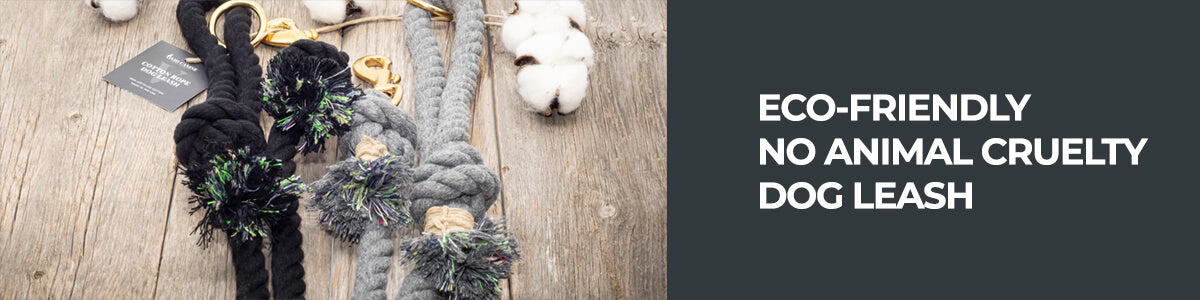 cotton rope leash banner
