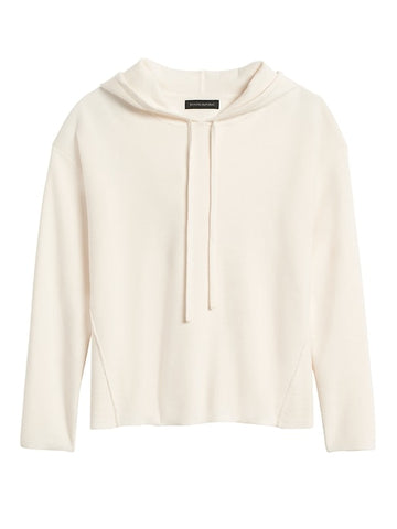 Sweater Hoodie in White