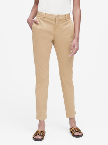 Sloan Skinny-Fit Chino in Trench Coat Beige