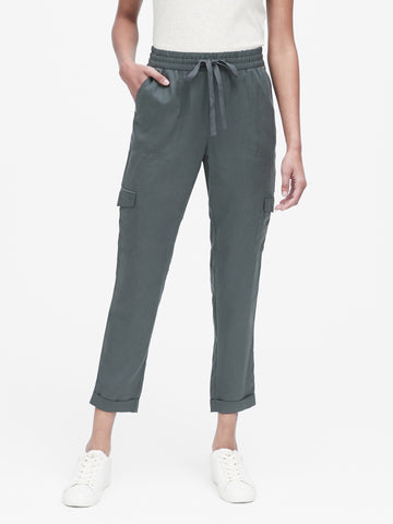 TENCEL Utility Jogger Pant in Orca