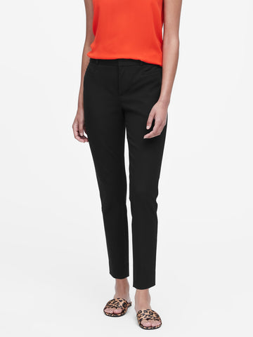 Modern Sloan Skinny-Fit Pant in Black