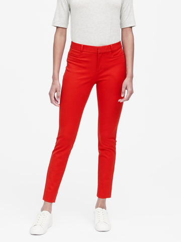 Modern Sloan Skinny-Fit Pant in Ultra Red