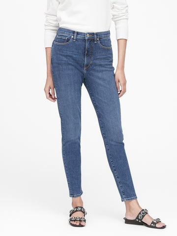 High-Rise Skinny Jean in Indigo