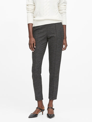 Hayden Tapered-Fit Ankle Pant in Charcoal Gray
