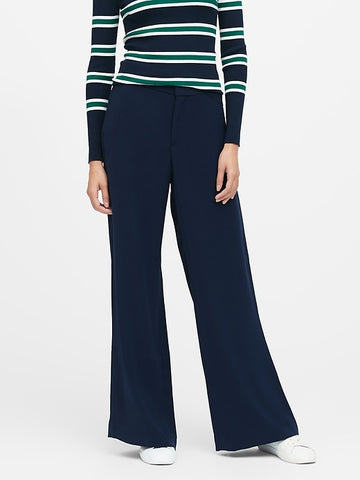 High-Rise Pant in Navy